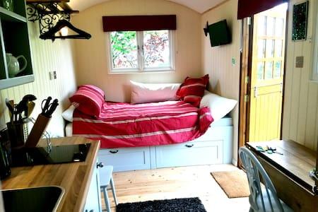 Luxurious Shepherds Hut + Private Garden & Views