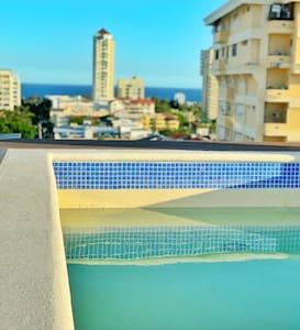 BRAND NEW APT! Santo Domingo Ocean View, Jacuzzi
