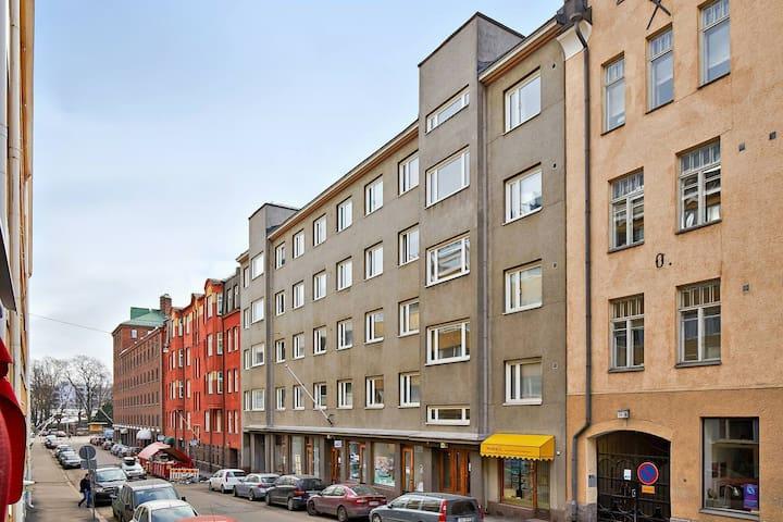 Nice apartment in center of Helsinki