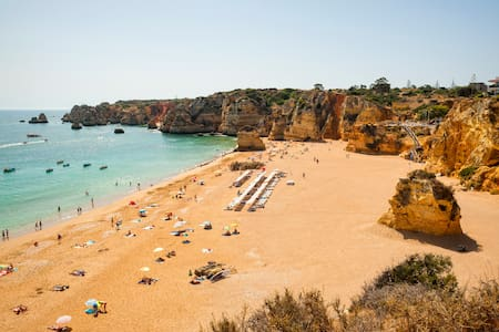 """ BLUE OCEAN VIEW"" Terrace+Pool, Dona Ana Beach"