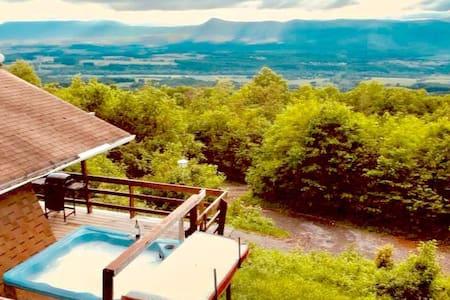 MountainTop w/Hot Tub, Stunning Views (near Luray)