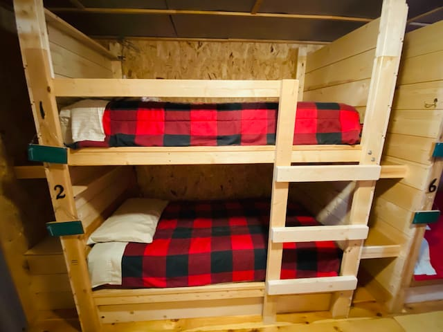 Hungry Hippie Hostel Bunk #2 (bottom bunk)
