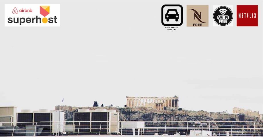 雅典的民宿