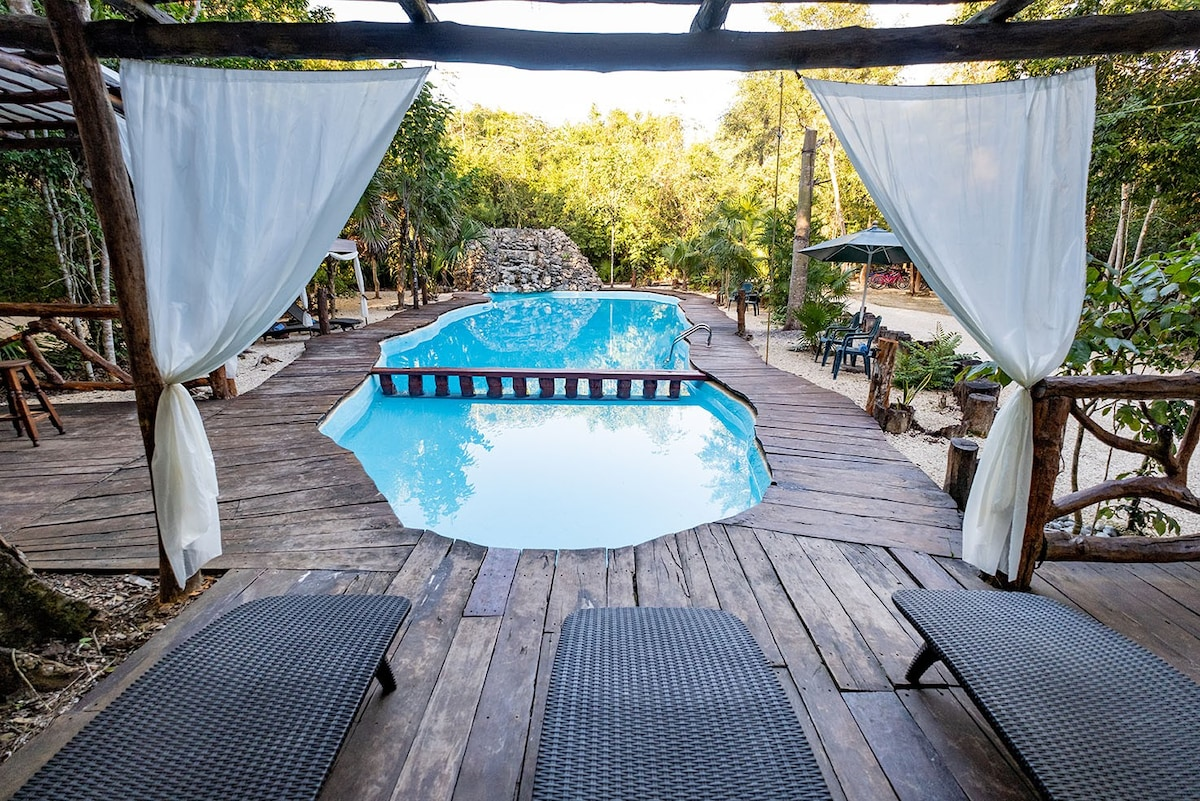 Eco Hotel Boutique Bungalow King for 2 w/brekfast