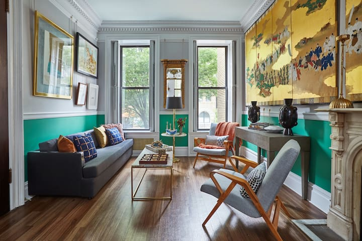 Beautiful, Safe, Private Brownstone Entire  Floor.