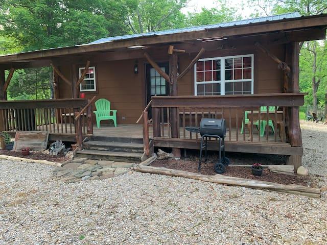 Cabin Near the Ozark Rivers