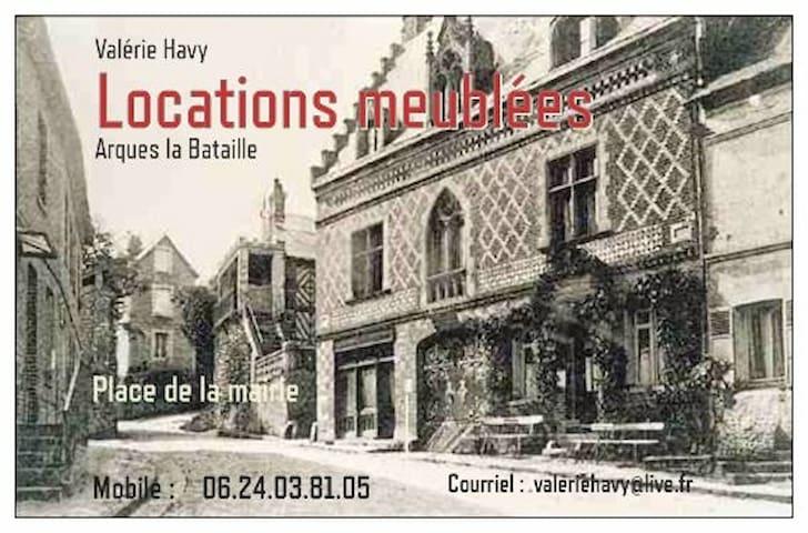 Arques-la-Bataille的民宿