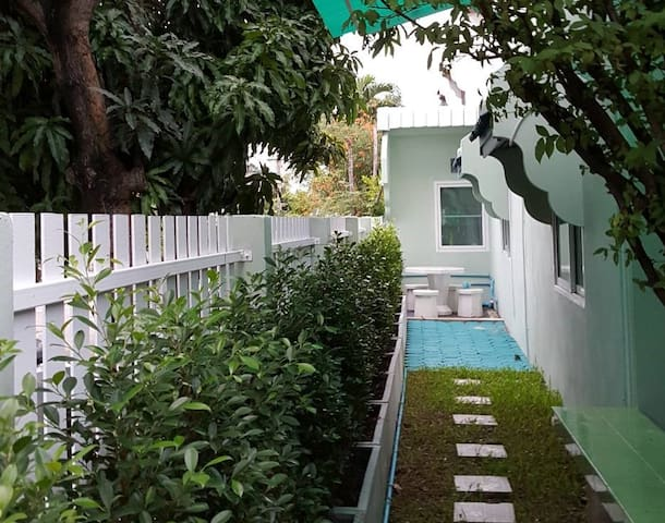 Turquoise: home next to DMK airport