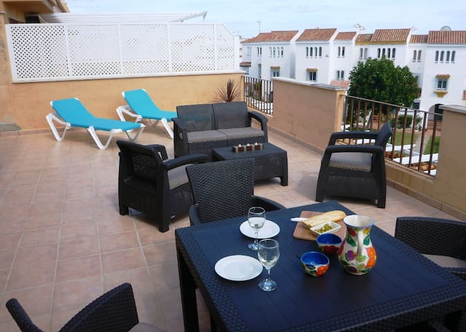Penthouse Apt on the Beach in Costa del Sol
