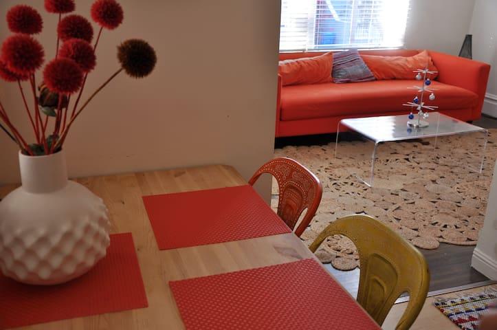 Tangerine Dream:  Modern Noe Valley Retreat