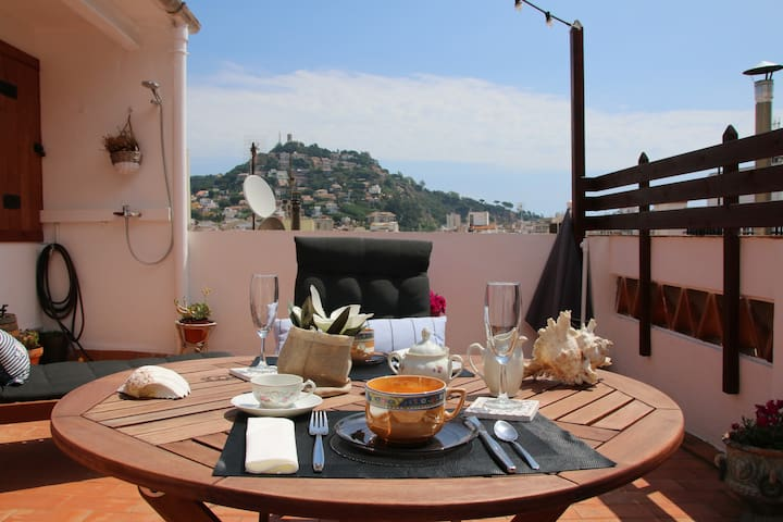 L´AlZINA with terrace and air conditioning