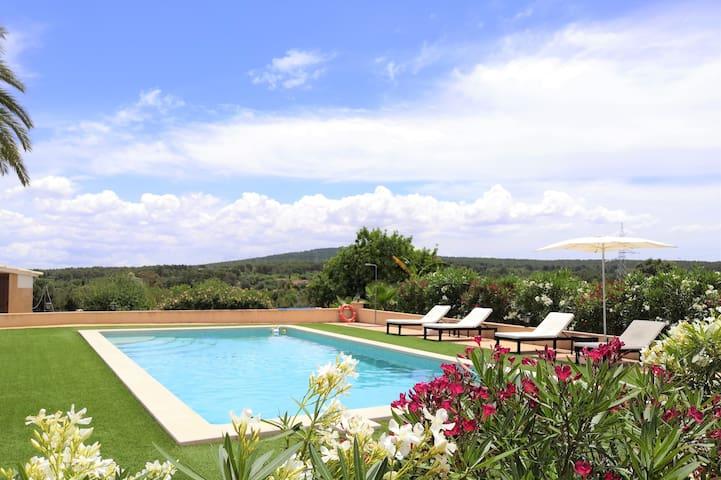 Bonita y tranquila finca rústica en Mallorca.