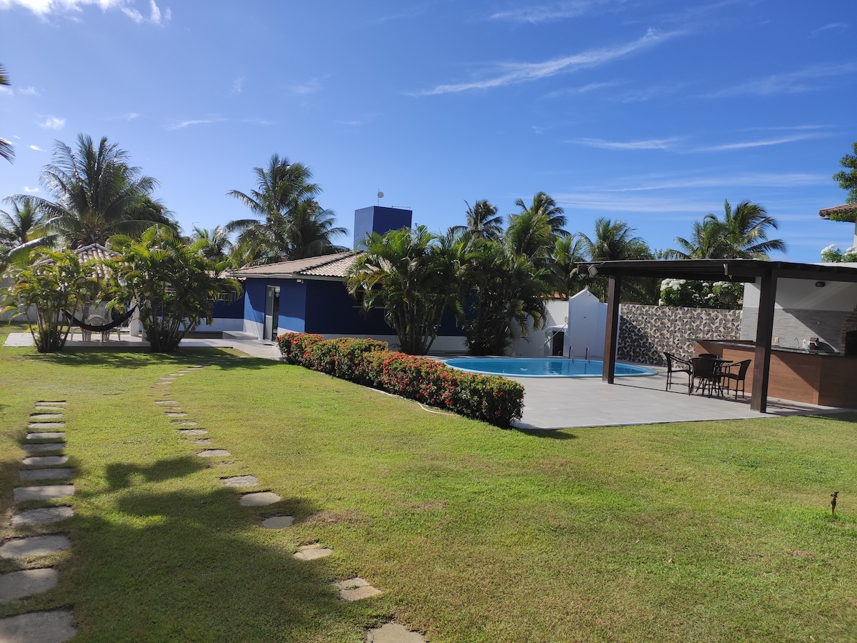 Casa de Praia com piscina no Paraíso Cond Albatroz