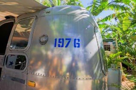 1976 Airstream near the Keys