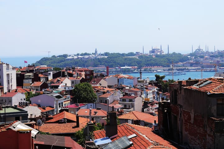 BREATHTAKING OLDCITY VIEW, HEART OF CITY IN TAKSIM