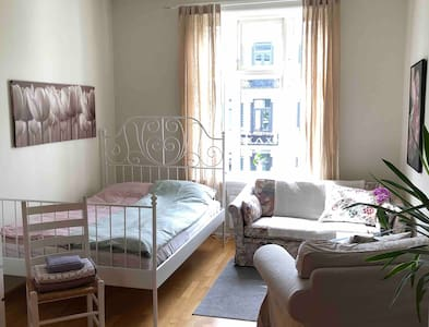 Charming room in central, beautiful and quiet area