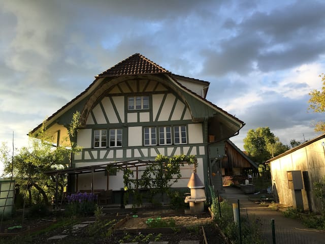 Niederwangen bei Bern的民宿
