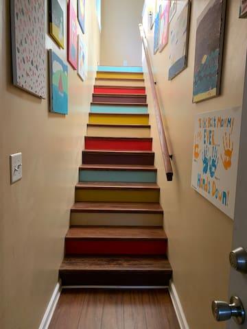 Colorful, Comfortable, Private and Unique