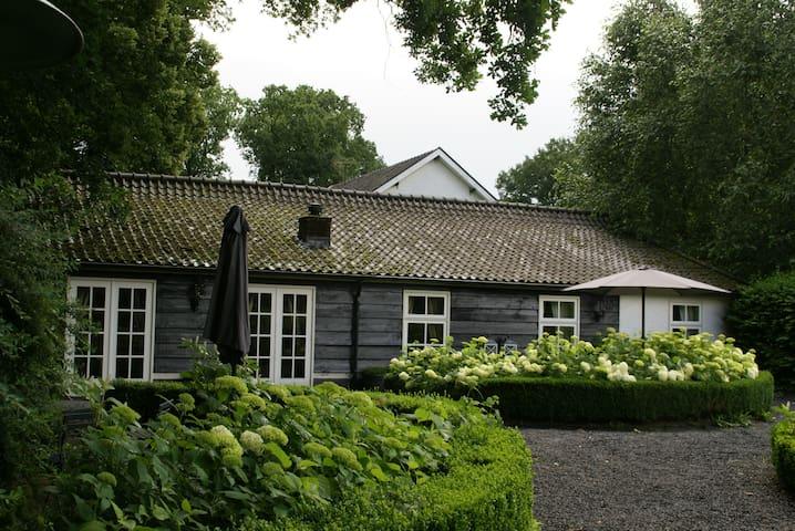 """""""De Cottage"""" op de Paltzerhoeve in Soestduinen."""