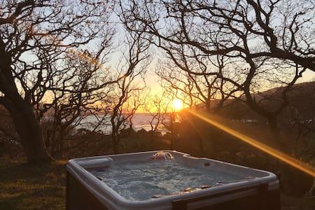 Snowdonia Mawddach Cabin + hot tub FIVE STAR*****