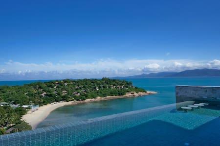 50% Off - RED SKY beach view villa
