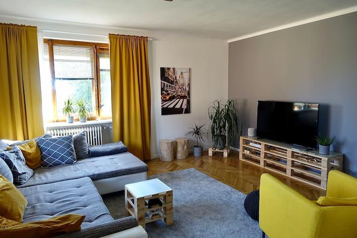 Dvoupatrový rodinný apartmán