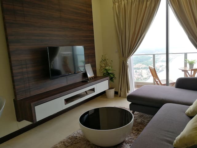 S3 HomeStay (Seaview,2Rooms, 2Bathrooms,Malacca.)