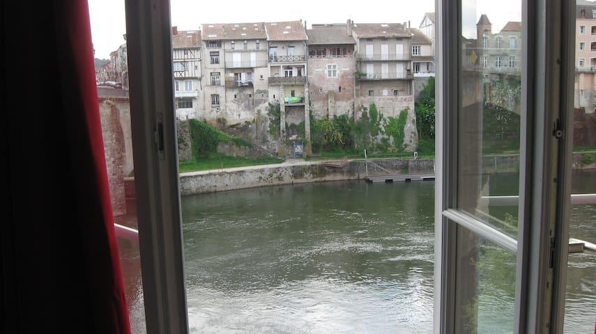 洛特河畔新城的民宿