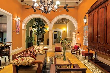 Casa Castellanos a real Yucatán experience!