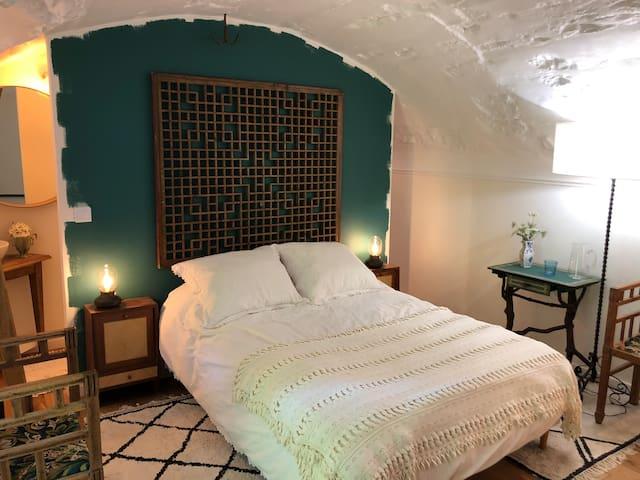 Au calme! Chambre sur jardin entre murs clos