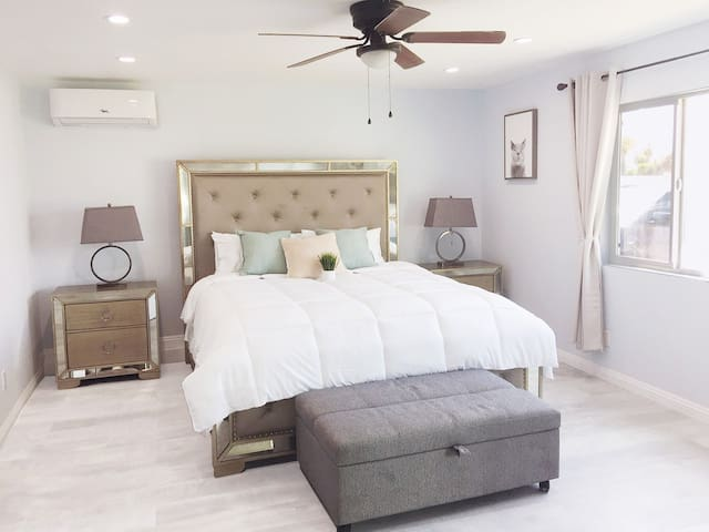 Well Sanitized Guest House W/ Kitchen & King Bed