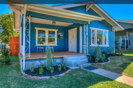 Gorgeous Blue Bungalow in Historic Uptown!