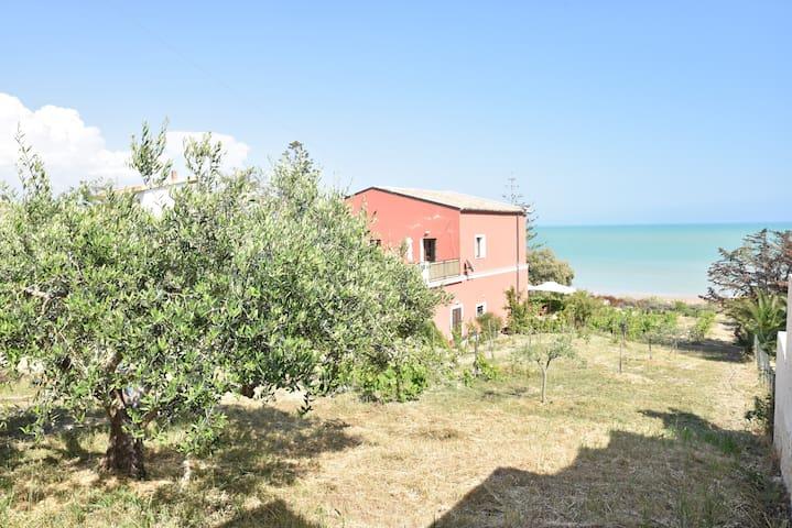 On the beach near Scala dei Turchi - Scirocco