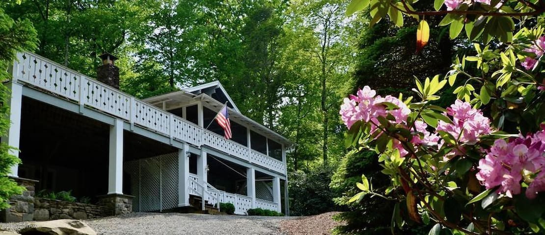 Tranquility Cottage in beautiful Buck Hill Falls