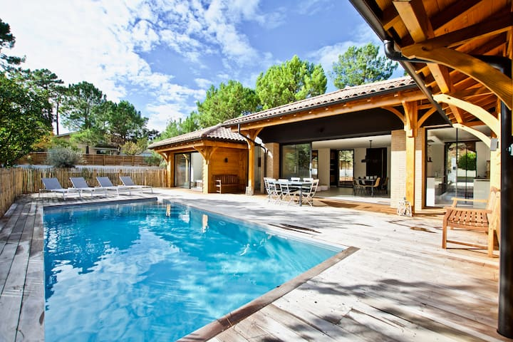 Belle villa avec piscine chauffée