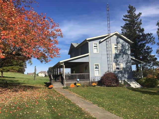 The Farm House by Zoar
