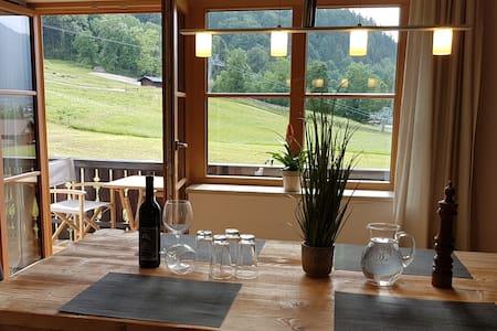 Ferienwohnung Hausberg am Skihang