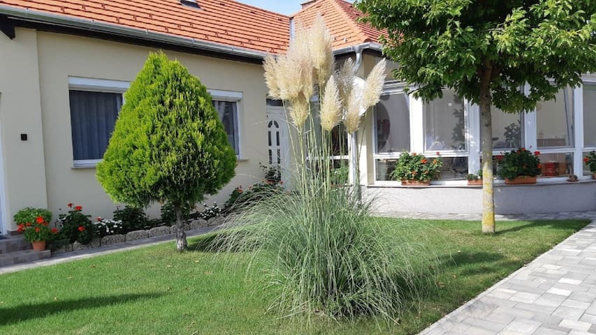 Apartment for 2 persons with WLAN in Bük R29302