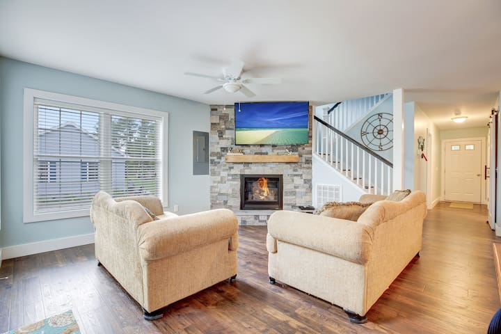 Beach Blessing- Located in the heart of Chincoteague Island..