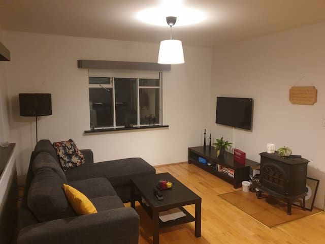 Comfy apartment 5min walk from downtown