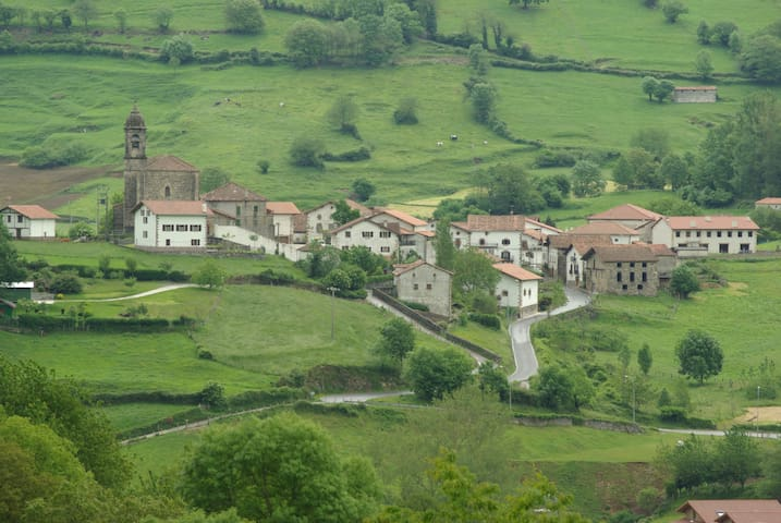 Casa en paraje rural en el norte de Navarra