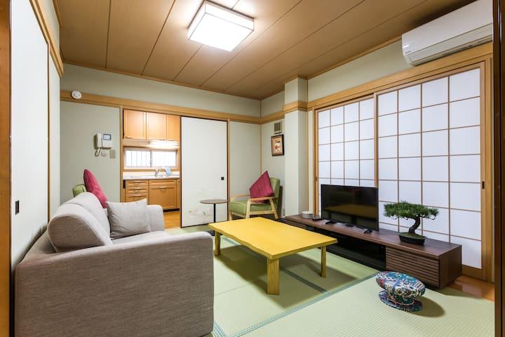 日式的房間 6個人可入房!靠近池袋和 池袋&東京巨蛋!
