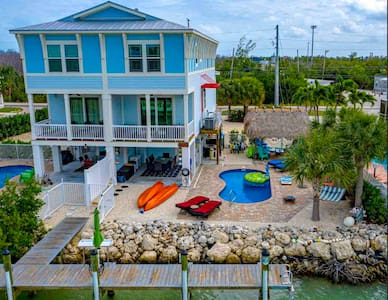 4/3 Private Pool w Heater/Dock/Kayaks & more incl.