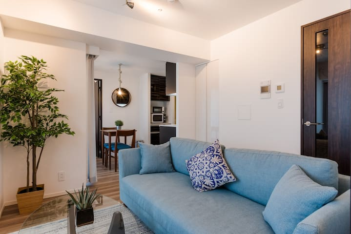 A Relaxing 2BR Design Home in Otemachi/Kanda
