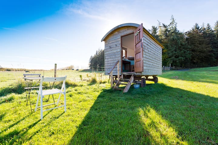 Pine Shepherd's Hut (2-man wagon)
