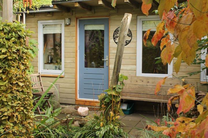 Mooi  'Tiny House' in Amersfoort.