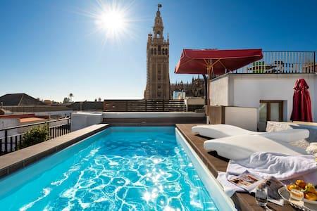 梦幻般的公寓。游泳池。无线上网