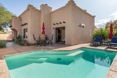 """Private """"Santa Fe"""" Style House with Pool"""