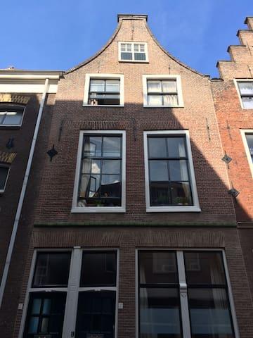 Lovely old house in the center of Leiden