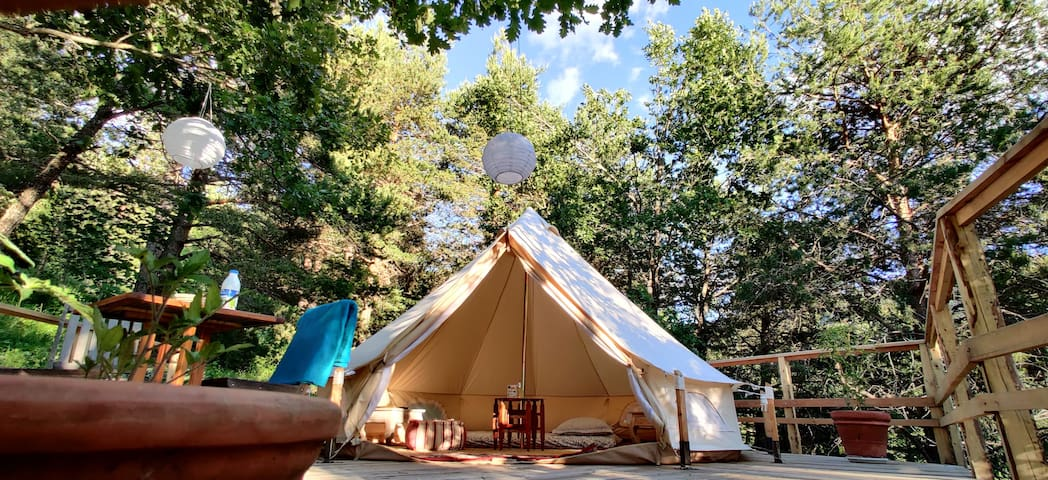 Forest Tent / Glamping Mon petit Toit